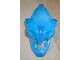 Part No: 57551pb01  Name: Bionicle Head, Barraki Takadox with Marbled Blue Pattern
