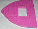 Part No: 30216pb01  Name: Boat Bow Brick 16 x 16 x 1 with 4 x 6 Cutout with 'Belville' Pattern (Sticker) - Set 5848