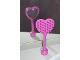 Part No: 52716  Name: Duplo Utensil Hairbrush Heart-Shaped with Mirror on Back