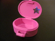 Part No: 6203pb12  Name: Scala Utensil Oval Case with Star Pattern on Inside (Sticker) - Set 5944