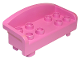 Part No: 6476  Name: Duplo Furniture Couch / Sofa with Rounded Back and 8 Studs