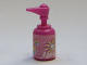 Part No: 6933bpb01  Name: Scala Accessories Bottle Pump with Shampoo Pattern (Sticker) - Set 3142