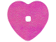 Part No: clikits050pb01  Name: Clikits, Icon Accent Foil Heart 6 3/4 x 6 3/4 with Textured Iridescent Pattern