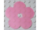 Part No: clikits055  Name: Clikits Icon Accent, Rubber Flower 5 Petals 5 3/4 x 5 3/4