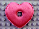 Part No: clikits060  Name: Clikits Icon Accent, Cloth Puffy Heart 5 x 5