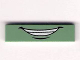 Part No: 2431pb167  Name: Tile 1 x 4 with Smile and White Teeth Pattern