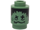 Part No: 3062bpb036  Name: Brick, Round 1 x 1 Open Stud with HP Shrunken Head Pattern