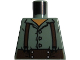Part No: 973pb1143  Name: Torso LotR Button Shirt with Brown Suspenders Pattern (Frodo)