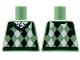 Part No: 973pb3435  Name: Torso Argyle Sweater Vest Pattern