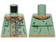 Part No: 973pb3858  Name: Torso Raincoat and Buckles Pattern