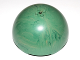 Part No: 99199pb01  Name: Cylinder Hemisphere 11 x 11, Studs on Top with Marbled Dark Green Pattern