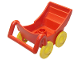 Part No: 2147c01  Name: Duplo Pram (Baby Carriage, Stroller)