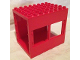 Part No: 2201  Name: Duplo Building 6 x 8 x 6 Drive Through with Two Window Openings