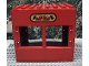Part No: 2207pb01  Name: Duplo Building 6 x 8 x 6 with Front Windows and Fire Station Logo
