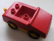 Part No: 2235a  Name: Duplo Car with 1 x 2 Studs, 1 Stud in Cab