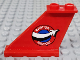 Part No: 2340pb070L  Name: Tail 4 x 1 x 3 with 'AVIATION AIRSHOW' Pattern Model Left Side (Sticker) - Set 60103