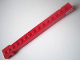 Part No: 2350bpb01  Name: Crane Arm Outside, New Wide with End Notch with Red and White Danger Stripes Pattern on Both Sides (Stickers) - Set 4552
