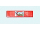 Part No: 2431pb122  Name: Tile 1 x 4 with 'TURBO RACER' Pattern (Sticker) - Set 7801
