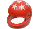 Part No: 2446px3  Name: Minifigure, Headgear Helmet Motorcycle (Standard) with 7 White Stars Pattern
