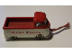 Part No: 259pb06  Name: HO Scale, VW Pickup with White Base and Red 'MURYAR BISHARA' Pattern