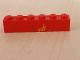 Part No: 3009pb073  Name: Brick 1 x 6 with Yellow Train Waiting Room Pattern (Sticker) - Set 2150