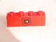 Part No: 3010pb056  Name: Brick 1 x 4 with Fire Logo Pattern (Sticker) - Set 6525