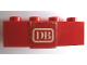 Part No: 3010pb086  Name: Brick 1 x 4 with 'DB' Pattern (Sticker) - Set 164