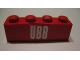 Part No: 3010pb088  Name: Brick 1 x 4 with 'ÖBB' (OBB) Pattern (Sticker) - Set 164
