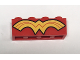 Part No: 3010pb210  Name: Brick 1 x 4 with Gold Wonder Woman Logo Pattern