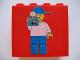 Part No: 30144pb013  Name: Brick 2 x 4 x 3 with Minifigure Photographer Pattern