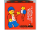Part No: 30144pb044  Name: Brick 2 x 4 x 3 with Legoland Deutschland Clowntag 2007 Pattern