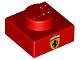 Part No: 3024pb013  Name: Plate 1 x 1 with Ferrari Emblem Pattern