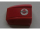 Part No: 30602pb042R  Name: Slope, Curved 2 x 2 Lip with Vodafone Logo Pattern Right (Sticker) - Sets 8672 / 8673