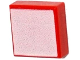 Part No: 3070bpb103  Name: Tile 1 x 1 with Groove with White Square Pattern