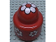 Part No: 31005pb03  Name: Primo Brick, Round Rattle 1 x 1 with Flower Pattern