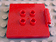 Part No: 31068  Name: Duplo Tile, Modified 4 x 4 with 4 Center Studs and Hinge