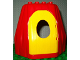Part No: 31072c01  Name: Duplo Building Rock Cave with Door Opening, with Yellow Door
