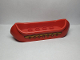 Part No: 31165pb01  Name: Duplo Canoe 2 x 8 with Yellow Zigzag Line and Dots Pattern