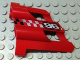Part No: 32191pb09  Name: Technic, Panel Fairing # 2 Large Short, Large Holes, Side B with Silver '96' Pattern (Sticker) - Set 8279
