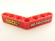 Part No: 32348pb005L  Name: Technic, Liftarm 1 x 7 Bent (4 - 4) Thick with 'SMOOTH OIL' and LEGO TECHNIC Logo Pattern (Stickers) - Set 8041