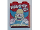 Part No: 3245cpb036  Name: Brick 1 x 2 x 2 with Inside Stud Holder with 'KRUSTY O's' Cereal Box Pattern