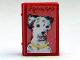 Part No: 33009pb033  Name: Minifigure, Utensil Book 2 x 3 with Dog Dalmatian Pattern (Stickers) - Set 3205