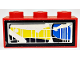 Part No: 3622pb011R  Name: Brick 1 x 3 with Front Headlight Pattern Model Right Side (Sticker) - Set 8280