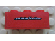 Part No: 3622pb062  Name: Brick 1 x 3 with White 'pininfarina' Pattern (Sticker) - Set 8652