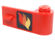 Part No: 3821pb002  Name: Door 1 x 3 x 1 Right with Classic Fire Logo Pattern