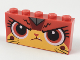 Part No: 39266pb02  Name: Brick 1 x 5 x 2 with Angry Ultrakatty Pattern