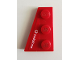 Part No: 43723pb02  Name: Wedge, Plate 3 x 2 Left with White 'vodafone' on Red Background Pattern (Sticker) - Set 8142