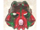 Part No: 43853posc  Name: Bionicle Mask Hau Nuva Poisoned - Green Stripe on Forehead