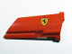 Part No: 44350pb021  Name: Technic, Panel Fairing #20 Large Long, Small Hole, Side A with Ferrari Logo Pattern (Sticker) - Set 8674