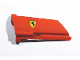 Part No: 44351pb021  Name: Technic, Panel Fairing #21 Large Long, Small Hole, Side B with Ferrari Logo Pattern (Sticker) - Set 8674